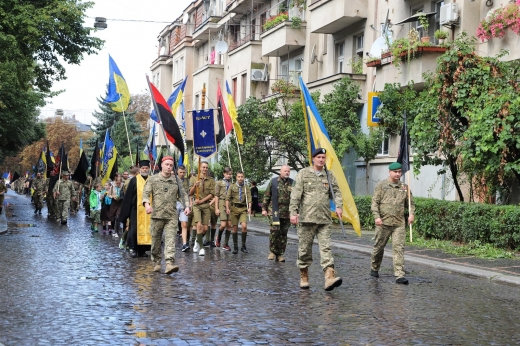 В Ужгороді пройшов марш пам'яті