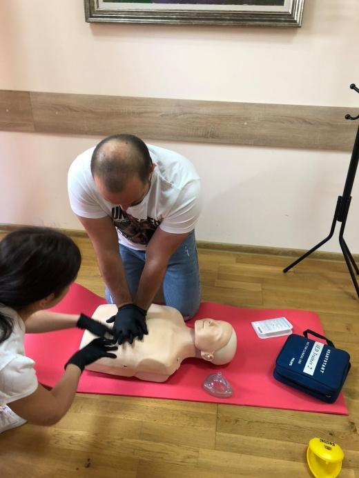 Перші в області: команда Клініки сімейної стоматології пройшла навчання від American Heart Association