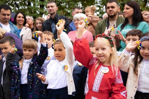 В освітніх закладах Ужгорода відзначили День знань