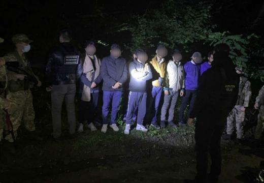 На Закарпатті затримали групу нелегалів з Пакистану