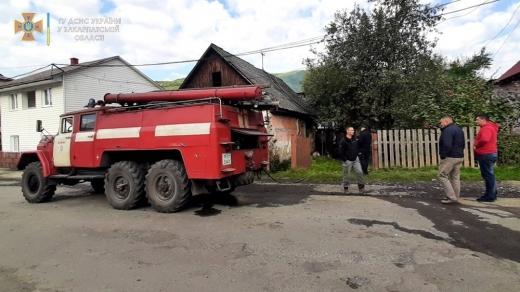 Трагічна подія на Рахівщині: на пожежі загинула 84-річна жінка