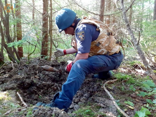 Понад пів тисячі вибухонебезпечних предметів знищили піротехніки на Закарпатті