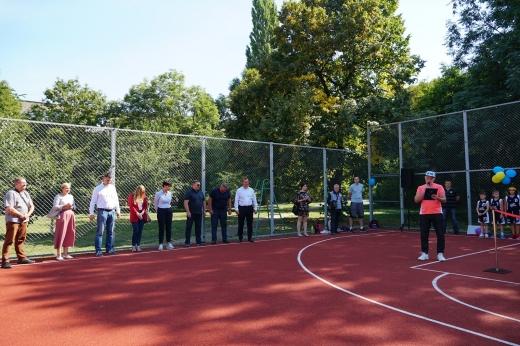 Новий баскетбольний майданчик відкрили в Ужгороді