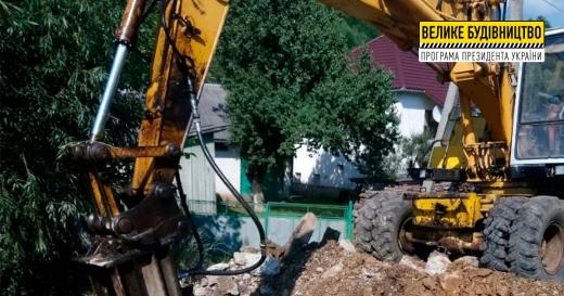 Уперше за понад 40 років у селі Оленьово ремонтують міст