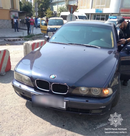 """В Ужгороді на Петефі виявили водія """"під кайфом"""""""