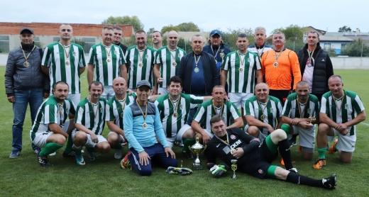 ФК «Автомобіліст» – переможець чемпіонату Ужгорода з футболу серед ветеранів
