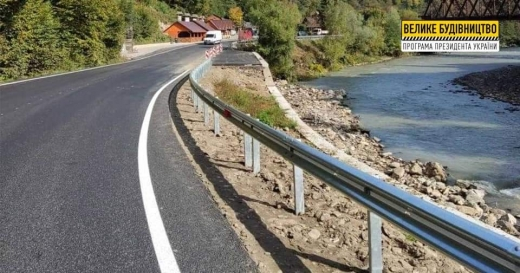 Ремонт дороги у Великому Бичкові на завершальному етапі