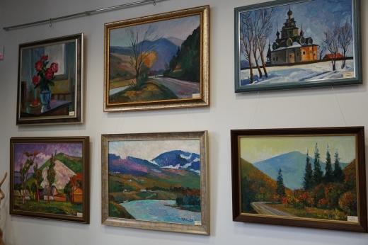 В Ужгороді відкрили виставку робіт Зіхермана Шандора