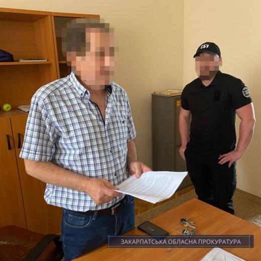 На Закарпатті директор заволодів понад 800 тис. грн, виділеними на боротьбу з COVID-19