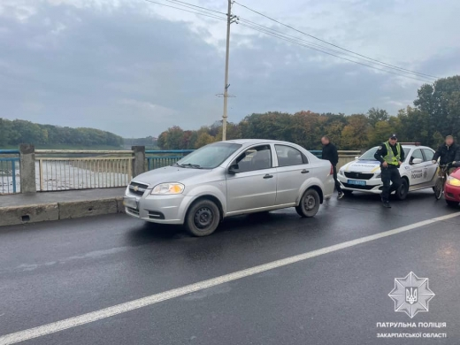 Патрульні відшукали водія, що вчинив ДТП і залишив місце події